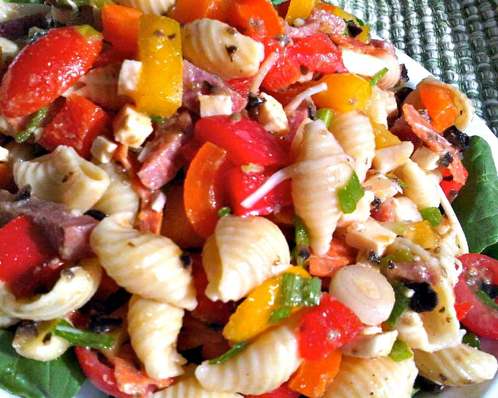Antipasto Pasta Salad for Summer - Flavor Mosaic