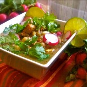 Quick and Easy Chicken Posole