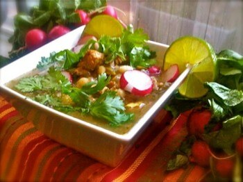 Quick and Easy Chicken Posole Soup