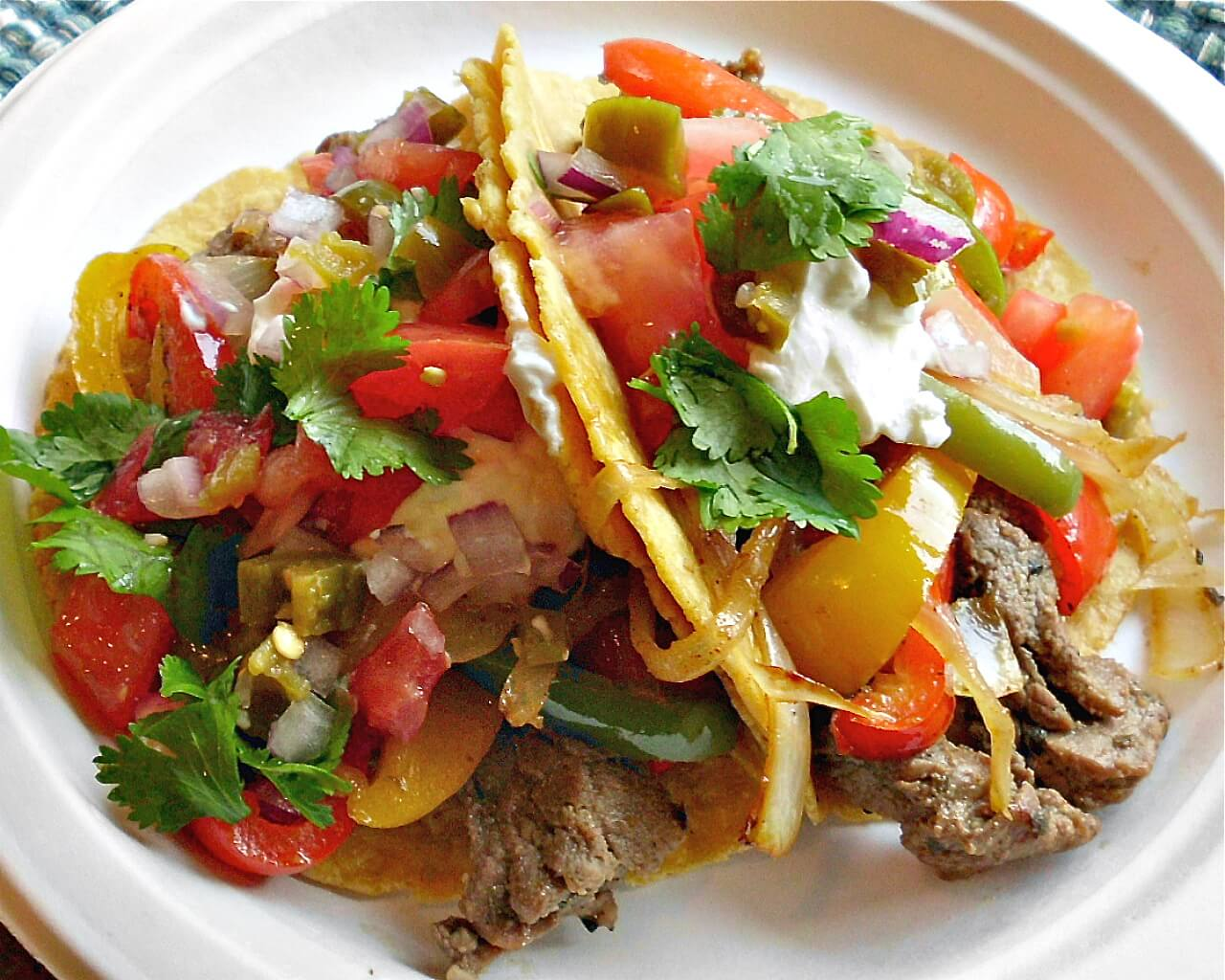 Steak Fajitas Recipe — Dishmaps