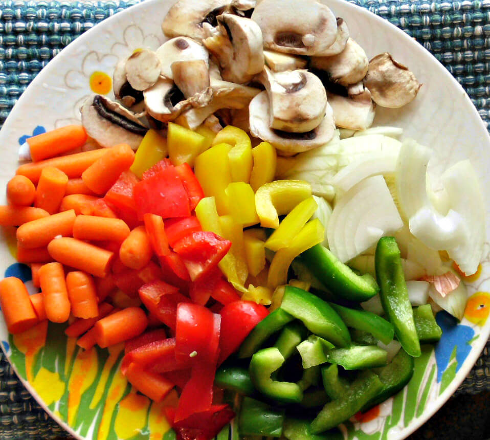 Vegetables For Chicken Cacciatore