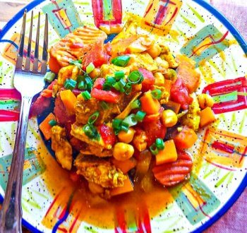 Slow Cooker Chicken-Marakesh
