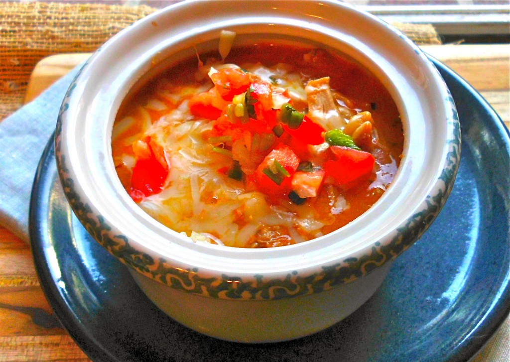 Easy Crockpot Chicken Chili