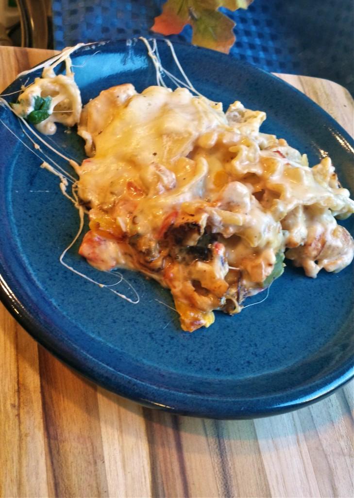 Cajun-Chicken-skillet-lasagna-plate