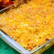 Cheesy Bacon Ranch Hashbrown Casserole