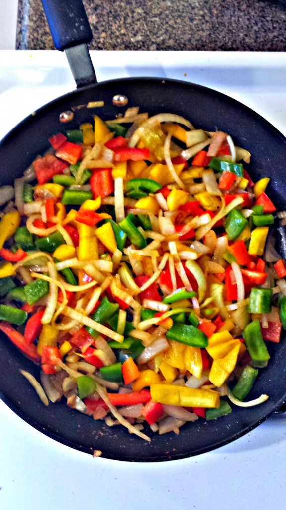 Sauteed onions n peppers