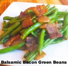 Balsamic Bacon Green Beans