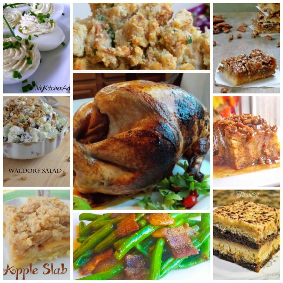 Complete Thanksgiving Menu and recipes