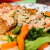 Chicken in an Italian Parmesan Cream Sauce