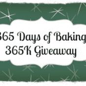 365 Days of Baking 365K Celebration Giveaway!