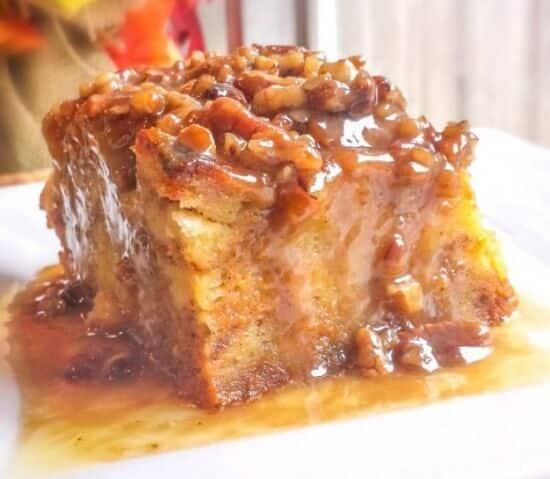 Pumpkin-Praline-Bread-Pudding
