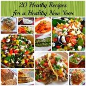 20 Healthy Recipes for a Healthy New Year