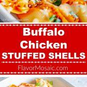 Buffalo Chicken Stuffed Shells copy