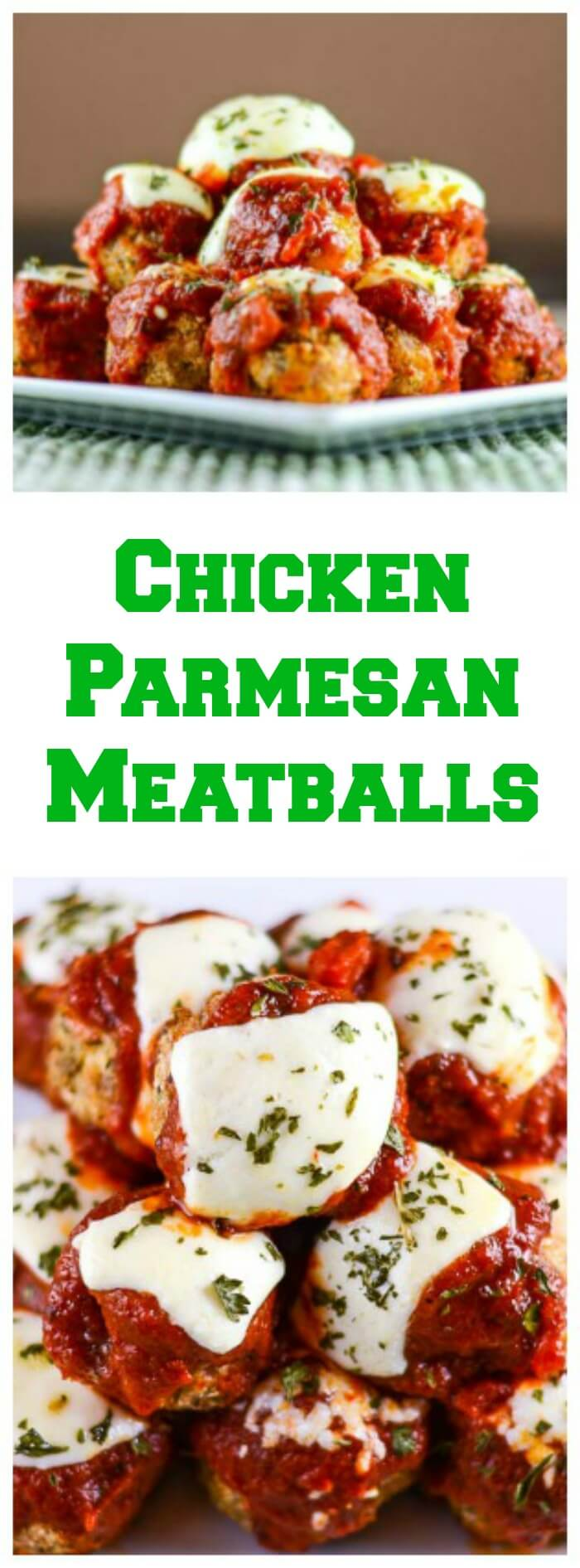 Chicken Parmesan Meatballs - Flavor Mosaic