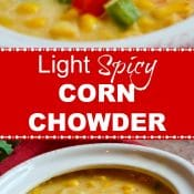 Light Spicy Corn Chowder Long Pin Red Label Flavor Mosaic