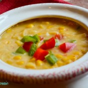Spicy Corn Chowder Light
