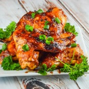 Sticky Asian Chicken Wings #AppetizerWeek