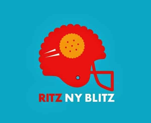 Ritz NY Blitz Logo - Blue