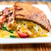Loaded Grilled Cheese