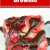 Cherry Cheesecake Brownies Pin