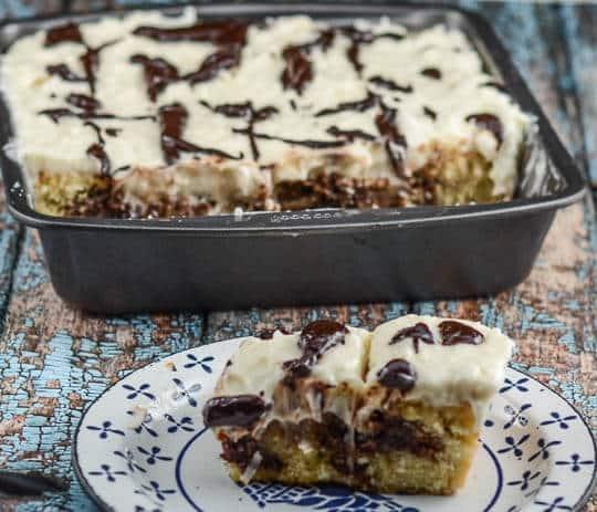 Coconut Fudge Cake-2