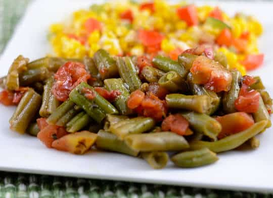 Top 15 Cajun Recipes for Mardi Gras - Creole Green Beans