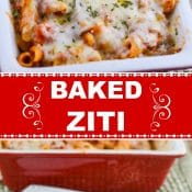 Flavor Mosaic Baked Ziti 2-photo pin red label