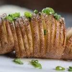 Hasselback Potatoes