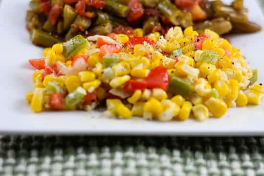 Top 15 Cajun Recipes for Mardi Gras - Maque Choux Corn