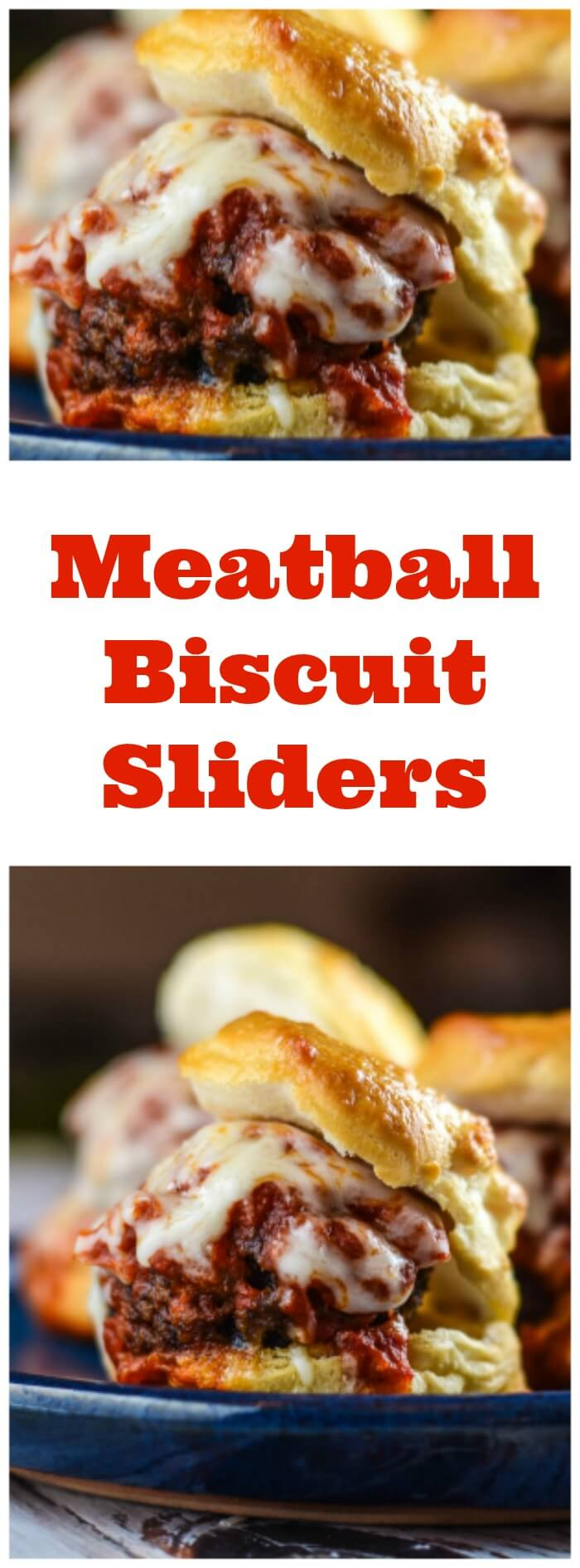 Meatball Biscuit Sliders