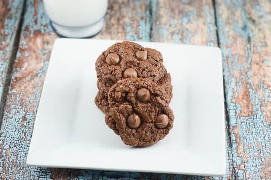 Easy Nutella Cookies-3