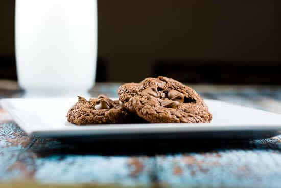 Easy Nutella Chocolate Chip Cookies