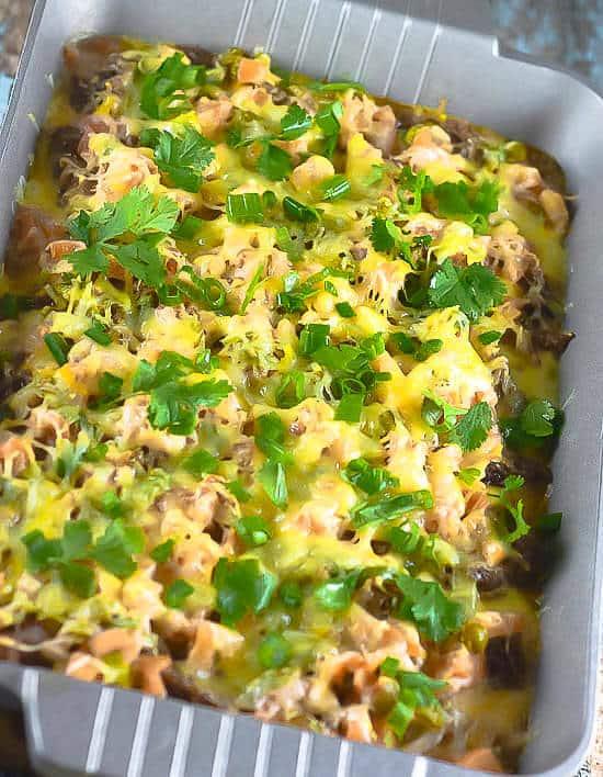 Hot-Cheesy-7-layer-Dip-Wilton-Armetale-Gourmet-Grillware