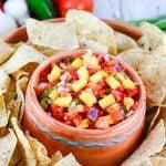 Fresh Mango Pico de Gallo Salsa