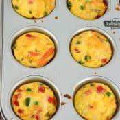 Mini Veggie Quiche Muffins
