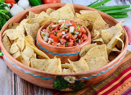 ... pico de gallo salsa. Create your own fiesta with this fantastic salsa