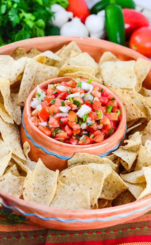 Pico De Gallo Salsa Recipe — Dishmaps