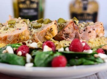 Pork Tenderloin with Mustard Cream Sauce and Cornichons - Flavor Mosaic