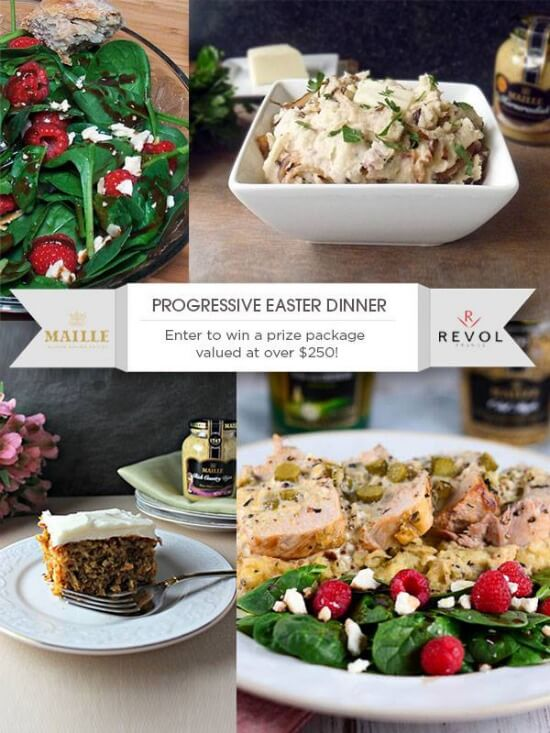 Progressive Easter Dinner and Giveaway