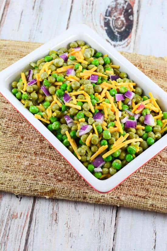 Grandma's Pea Salad Recipe
