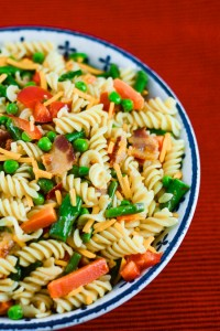 Bacon Pasta Salad Primavera