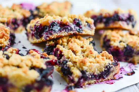 Blueberry Crumb Bars - Flavor Mosaic
