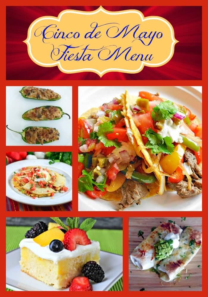 Cinco de Mayo Fiesta Menu - Flavor Mosaic
