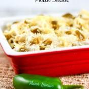 Jalapeno Popper Pasta Salad