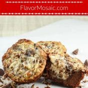 German Chocolate Cookie Cups Pin Red Label Flavor Mosaic
