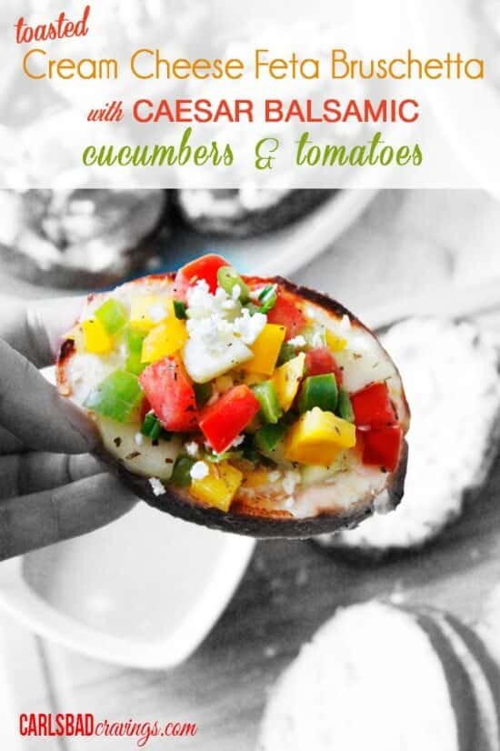 Toasted-Cream-Cheese-Feta-Bruschetta