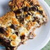 Amazing S'Mores 7-Layer Bars  #SundaySupper