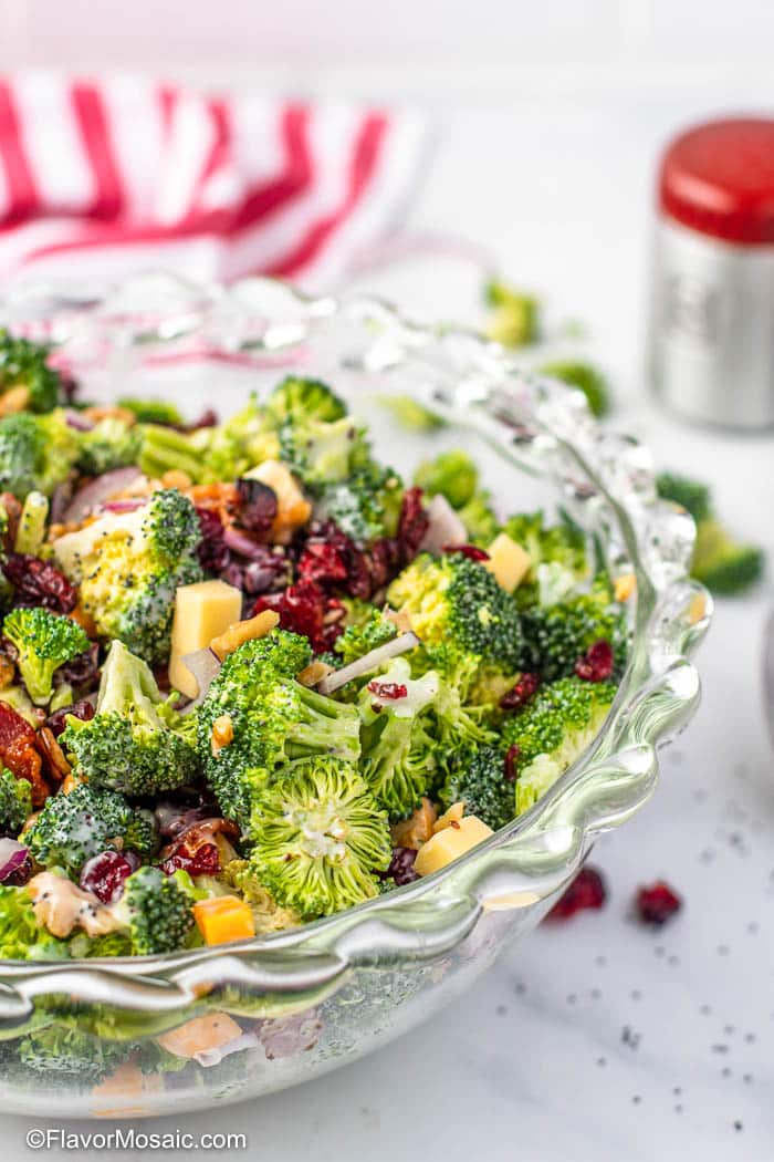 Broccoli Salad Flavor Mosaic