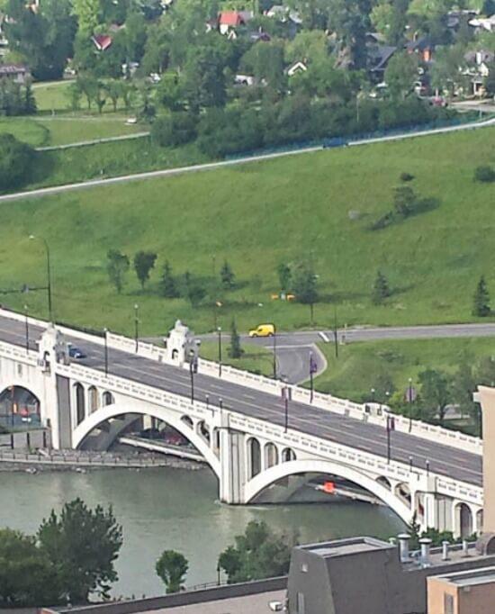 Calgary Bridge & River
