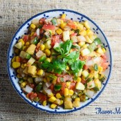 Corn and Zucchini Salsa